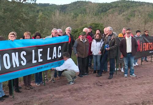 Reportage France 3 sur la mobilisation contre la construction d'une usine de traitement des déchets du bâtiment aux Adrets de l'Estérel