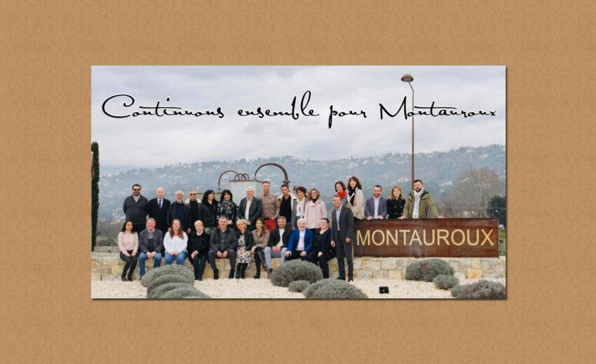 Communication de JY Huet, maire de Montauroux