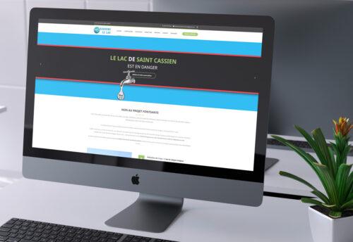 Création du site web de Fontsante.org par WebGraphie