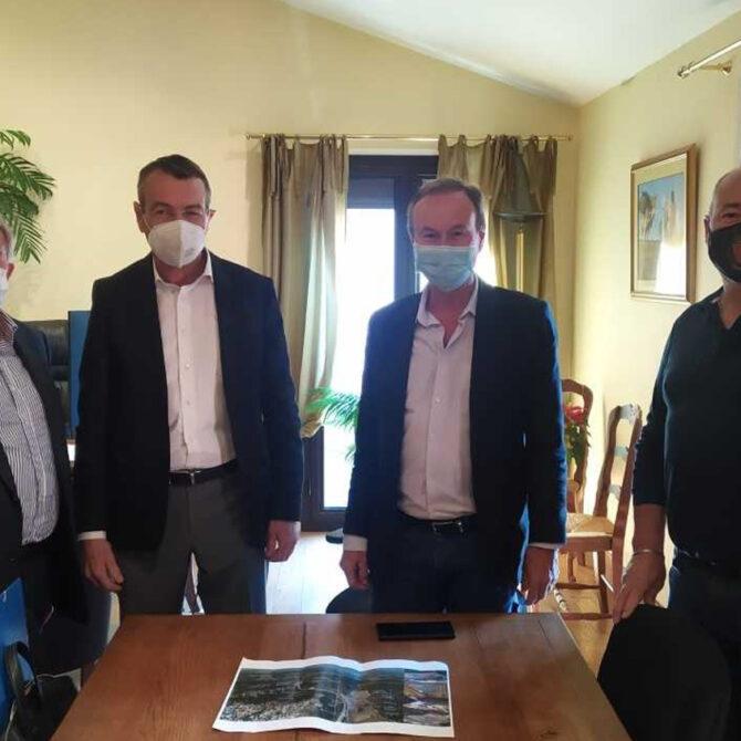 réunion des maires contre le projet Fontsante 20 avril 2021